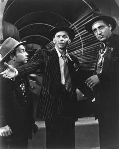 """Guys and Dolls""Frank Sinatra, Sheldon Leonard1955 MGM**I.V. - Image 9244_0060"