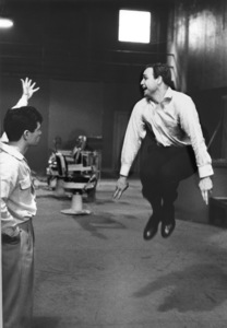 """Guys and Dolls""Marlon Brando rehearses with choreographer Michael Kidd1955 © 1978 Bob Willoughby - Image 9244_0069"