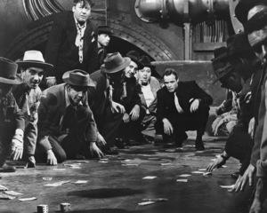 """Guys and Dolls""Stubby Kaye, & Marlon Brando, The Samuel Goldwyn Company, 1955, **I.V. - Image 9244_0074"