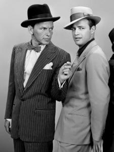"""Guys and Dolls"" Frank Sinatra, Marlon Brando 1955 ** I.V."