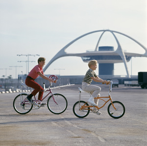 Bicycles (Schwinn)circa 1960s / Los Angeles Airport © 1978 Sid Avery - Image 9245_0017