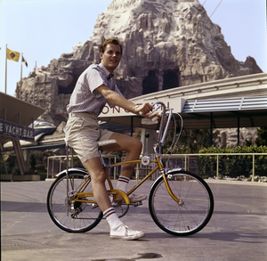 Schwinn bicycle at Disneylandcirca 1972© 1978 Sid Avery - Image 9245_0021