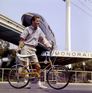 Schwinn bicycle at Disneylandcirca 1972© 1978 Sid Avery - Image 9245_0022