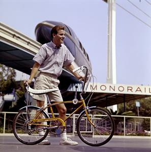 Schwinn bicycle at Disneylandcirca 1972© 1978 Sid Avery - Image 9245_0022