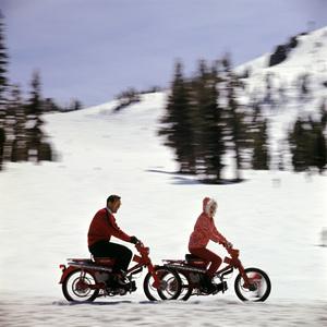 Motorcycles (Honda Motor Bikes)1964© 1978 Sid Avery - Image 9266_0029