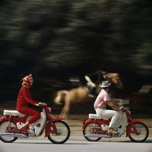 Motorcycles (Honda Motor Bikes)1964© 1978 Sid Avery - Image 9266_0032