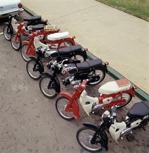 Motorcycles (Honda Motor Bikes)1964© 1978 Sid Avery - Image 9266_0036