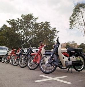 Motorcycles (Honda Motor Bikes)1964© 1978 Sid Avery - Image 9266_0037