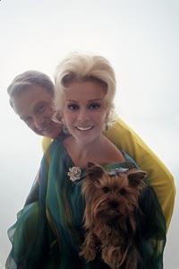"""Eddie Albert and Eva Gabor from """"Green Acres""""1967© 1978 Mario Casilli - Image 9271_0100"""