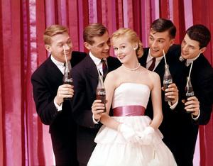 """Advertising"" Coca-Cola circa 1958 © 2000 Mark Shaw - Image 9277_0115"