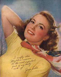 Joan Leslie posing for a Maybelline advertisementcirca 1940s© 1978 Paul Hesse - Image 9277_0183