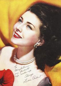 Lenore Aubert posing for a Maybelline advertisementcirca 1940s© 1978 Paul Hesse - Image 9277_0185