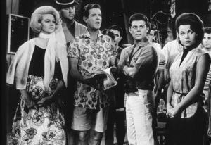 """Robert Cummings, Frankie Avalon, Annette Funicello""""Beach Party"""" (1963)AIP - Image 9281_0003"""