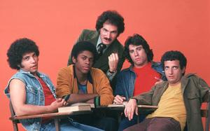 Welcome Back KotterBob Hegyes, Lawrence Hilton-Jacobs, GabeKaplan, John Travolta, Ron Palilloc. 1975 / ABC**H.L. - Image 9291_0012