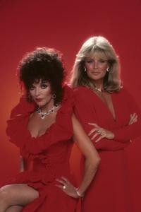 """""""Dynasty"""" Joan Collins, Linda Evans1982© 1982 Mario Casilli - Image 9295_0019"""