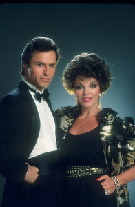"""""""Dynasty""""Mike Nader & Joan Collins1984 © 1984 Mario Casilli - Image 9295_0052"""