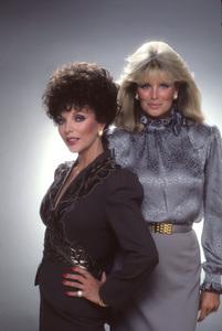 """""""Dynasty""""Joan Collins, Linda Evans1982 © 1982 Mario Casilli - Image 9295_0102"""