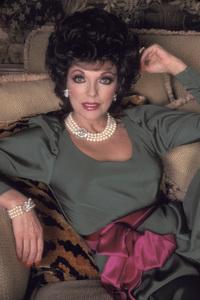"""Dynasty""Joan Collins1985 © 1985 Mario Casilli - Image 9295_0117"