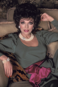 """Dynasty""Joan Collins1985 © 1985 Mario Casilli - Image 9295_0117"
