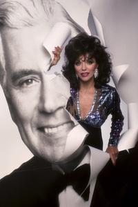 """Dynasty"" Joan Collins 1989© 1989 Mario Casilli - Image 9295_0353"