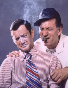 """The Odd Couple""Tony Randall,Jack Klugman1971 ABC © 1978 GeneTrindl - Image 9296_0015"
