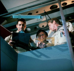 """""""Voyage to the Bottom of the Sea""""David Hedison, Richard Basehart1965 ABC / 20th © 1978 Ted AllanMPTV - Image 9298_0054"""