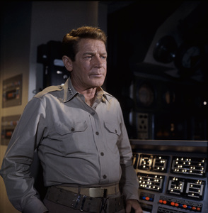 """Voyage to the Bottom of the Sea"" Richard Basehart 1967© 1978 Ted Allan - Image 9298_0055"