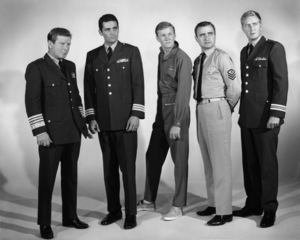""" Voyage to the Bottom of the Sea""David Hedison, Richard Basehart, Allan Hunt, Terry Becker, Robert Dowdellcirca 1964 © Irwin Allen Properties, LLC and Twentieth Century Fox Film Corporation. All rights reserved - Image 9298_0079"