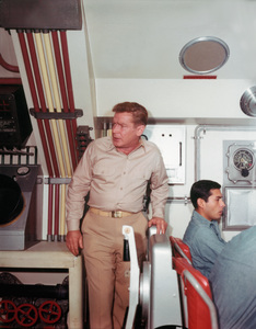 """"""" Voyage to the Bottom of the Sea""""Richard Basehartcirca 1964 © Irwin Allen Properties, LLC and Twentieth Century Fox Film Corporation. All rights reserved - Image 9298_0108"""