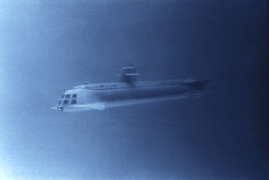 """"""" Voyage to the Bottom of the Sea""""Submarine  """"Seaview""""c. 1964 © Irwin Allen Properties, LLC and Twentieth Century Fox Film Corporation. All rights reserved - Image 9298_0111"""