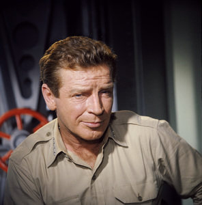 """Voyage to the Bottom of the Sea"" Richard Basehart 1967© 1978 Ted Allan - Image 9298_0113"
