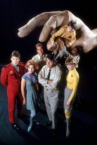 """""""Land of the Giants""""Gary Conway, Deanna Lund, Don Matheson, Kurt Kasznar, Stefan Arngrim, Don Marshall, Heather Young1968© 1978 Gene Trindl - Image 9299_0021"""
