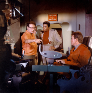 """""""Land of the Giants""""Irwin Allen, Don Marshall, Gary Conwaycirca 1969** I.A. © IAPLLC and TCFFC. All Rights Reserved - Image 9299_0037"""