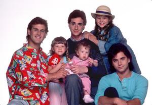 """Full House""David Coulier,Jodie Sweetin,Bob Saget,Cabdace Cameron,John Stamos,Ashley Fuller O1987 © 1987 Mario Casilli - Image 9335_0028"