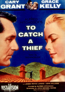 """""""To Catch A Thief,""""Color Poster1955 Paramount - Image 9339_0001"""