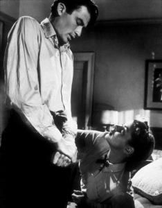 """Spellbound,"" Gregory Peck and Ingrid Bergman.1945 United Artists - Image 9340_0005"