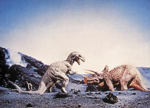 """One Million Years B.C.""Creatures © 1966 Hammer - Image 9359_0011"