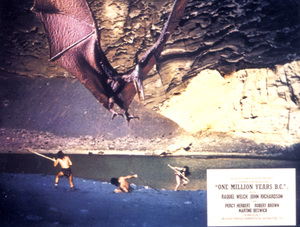 """One Million Years B.C.""Lobby Card © 1966 Hammer - Image 9359_0013"