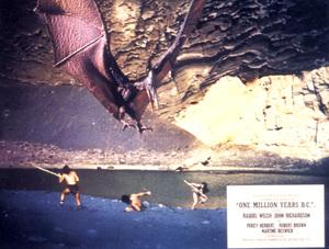 """One Million Years B.C.""Lobby Card © 1966 Hammer - Image 9359_0013"
