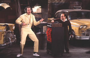 """Taxi""Andy Kaufman, Danny DeVito1978**H.L. - Image 9360_0101"