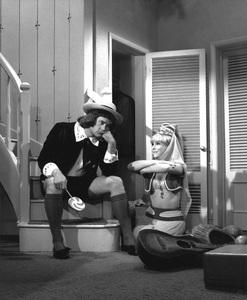 """I Dream of Jeannie""Barbara Eden, Larry Hagman1965**I.V. - Image 9375_0082"
