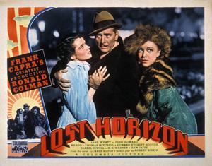 """Lost Horizon"" (Lobby Card)Ronald Colman, Jane Wyatt1937 Columbia Pictures** H.H. - Image 9425_0011"