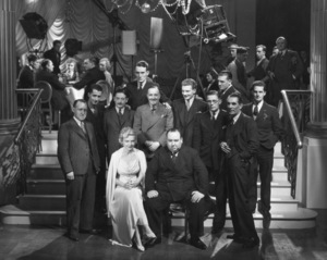 """""""The Thirty-Nine Steps""""Alfred Hitchcock and cast1935 Gaumont British**I.V. - Image 9428_0012"""