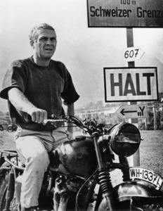 """The Great Escape"" Steve McQueen 1963 - Image 9429_0007"