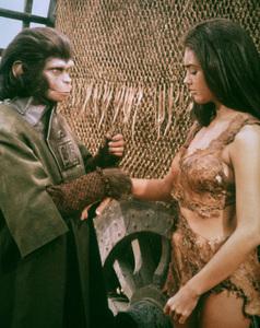 """Planet Of The Apes""Kim Hunter, Linda Harrison © 1968 20th Century Fox - Image 9436_0004"