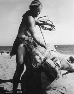"""Planet Of The Apes""Charlton Heston, Maurice Evans © 1968 20th Century Fox - Image 9436_0015"