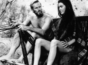 """Planet Of The Apes""Charlton Heston, Linda Harrison © 1968 20th Century Fox - Image 9436_0024"