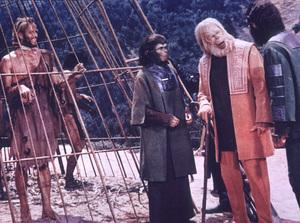 """Planet Of The Apes""Charlton Heston, Kim Hunter, Maurice Evans,Roddy McDowall © 1968 20th Century Fox - Image 9436_0036"