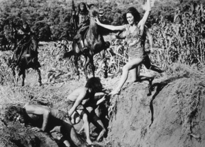 """Planet Of The Apes""Linda Harrison © 1968 20th Century Fox - Image 9436_0040"