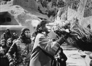 """Planet Of The Apes""Kim Hunter, Charlton Heston1968 20th Century Fox**I.V. - Image 9436_0052"